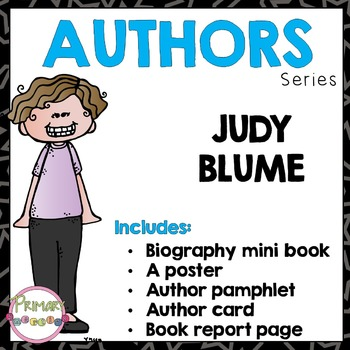 Author Study - Judy Blume