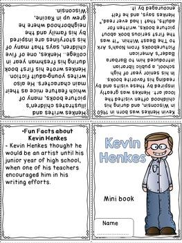 Author Study - Kevin Henkes