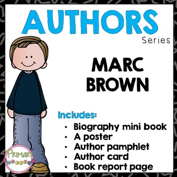 Author Study - Marc Brown
