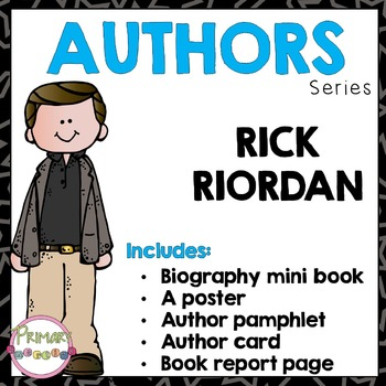Author Study - Rick Riordan