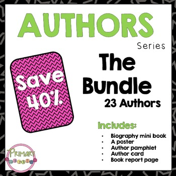 Author Study - The Bundle