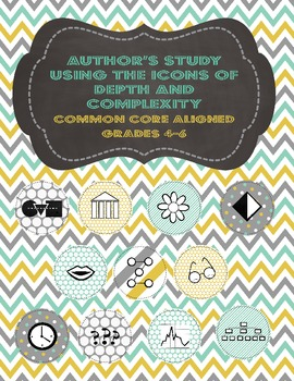 Author's Study Using the Icons of Depth and Complexity (CCSS Aligned Grades 4-6)