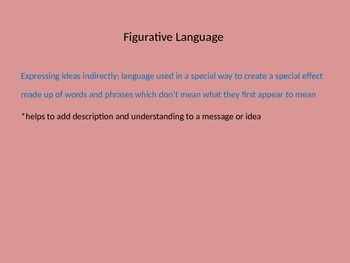 Author's Style and Figurative Language ALL inclusive PP