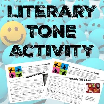 Tone And Mood Worksheet Teaching Resources Teachers Pay Teachers