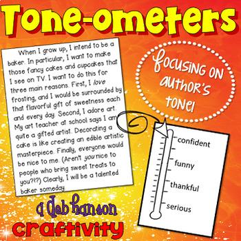 Author's Tone Craftivity