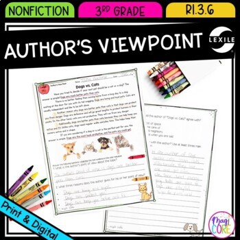 Author S View Point In Nonfiction Text Ri 3 6 By Common