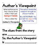 Author's Viewpoint Anchor Chart