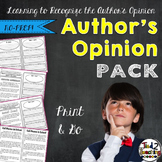 Author's Viewpoint - the Opinion Behind the Text