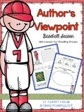 Author's Viewpoint Mini Lesson BASEBALL Edition