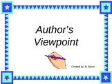 Author's Viewpoint Power Point Presentation