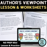 Author's Viewpoint Powerpoint Mini-Lesson
