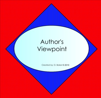 Author's Viewpoint Smartboard Lesson