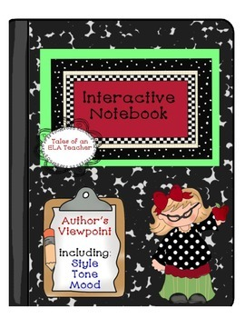 Author's Viewpoint {including Style, Tone, & Mood} Interac