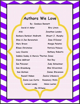 Authors We Love 2