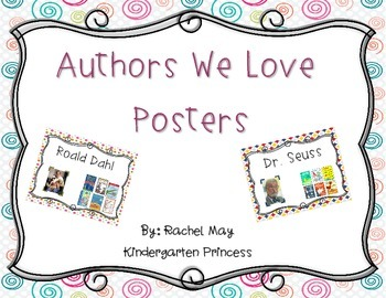 Authors We Love Posters