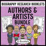Authors and Artists Biography Research Projects SET
