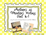 Authors as Mentors Writing Unit