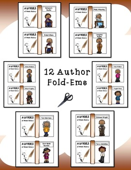 Authors of Black History Mini Fold-Ems and Activities