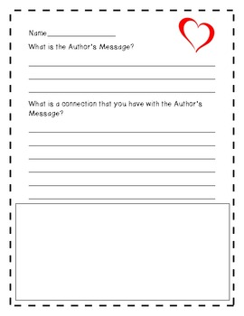 Author's message and connections WS
