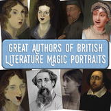 Authors of British Literature Magic Portrait Videos and Po