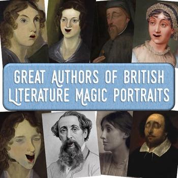 Authors of British Literature Magic Portrait Videos and Po