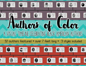 Authors of Color: A Visual Timeline of Black Authors