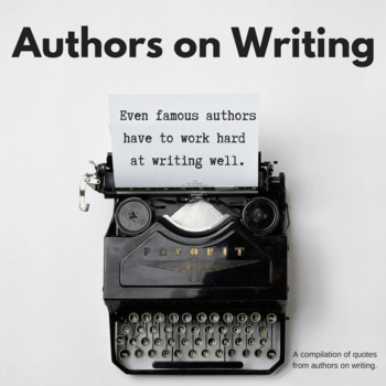 ELA Authors on Writing