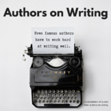 ELA Authors on Writing
