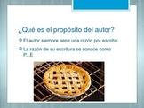 Authors purpose *SPANISH