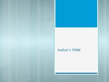 Author's tone power-point