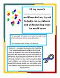 Autism Acceptance Flyer