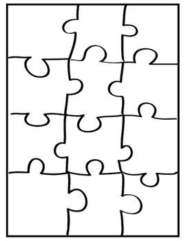 Autism Acrostic Poem Coloring Activity