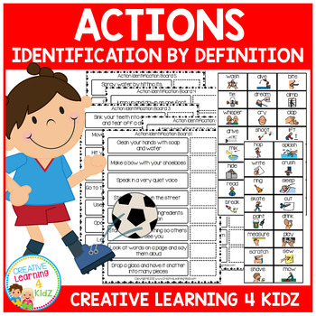 Action Identification by Definition Boards