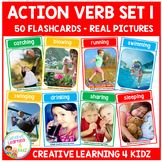 Action Verb Cards Set 1