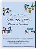 Autism Activities: Sorting Plants vs Furniture