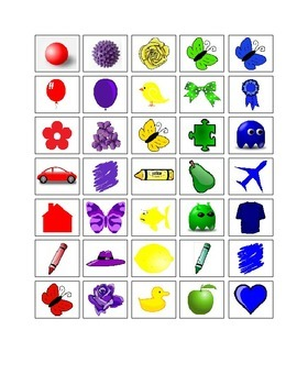 Autism Activity - SORTING COLORS