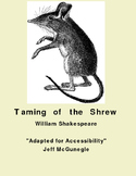 Autism Adapted Novel (PDF Color)  The Taming of The Shrew