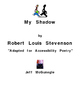 My Shadow by Robert Louis Stevenson  Autism Adapted Poetry (PDF Color Download)