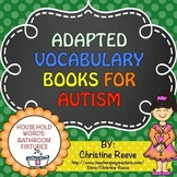 Autism Adapted Vocabulary Books: Household Words BATHROOM