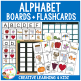 Alphabet Matching Boards & Flashcards