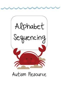 Autism- Alphabet Sequencing