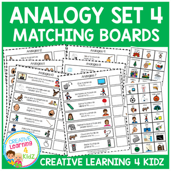 Analogy Matching Boards Set 4