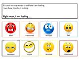 Autism Anger Social Story Visual