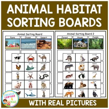 Animal Habitat Sorting