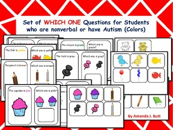 Autism, Answer Which One Questions, Picture Choice, Speech