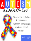 Autism Awareness (3rd-5th)