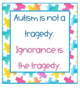 Autism Awareness/Acceptance Quotes