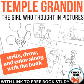 Autism Awareness Activities, The Girl Who Thought in Pictures - Temple Grandin