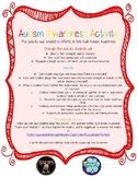 Autism Awareness Activity