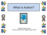 Autism Awareness Book and 5 Comprehension Strategy Graphic Organizer Worksheets